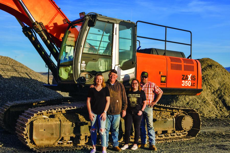 Excavating extends beyond Casey to four generations of Vanderwieles involved in the construction business.