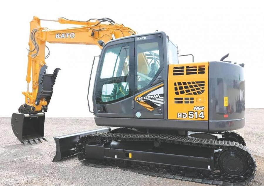 The Kato HD514 excavator is among the products that will be carried by Peterson Attachments & Equipment.