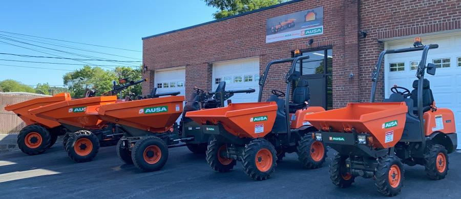 AUSA's site dumpers are widely used in construction and other industries pretty much around the globe, but are rarely seen on American job sites. Chesapeake Specialty Equipment looks to change that.
