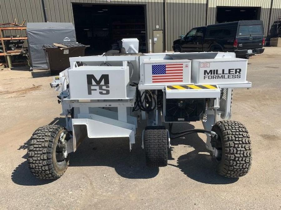 Miller Formless announced it has acquired the MBW slipform paver models C-101 and CG-200.