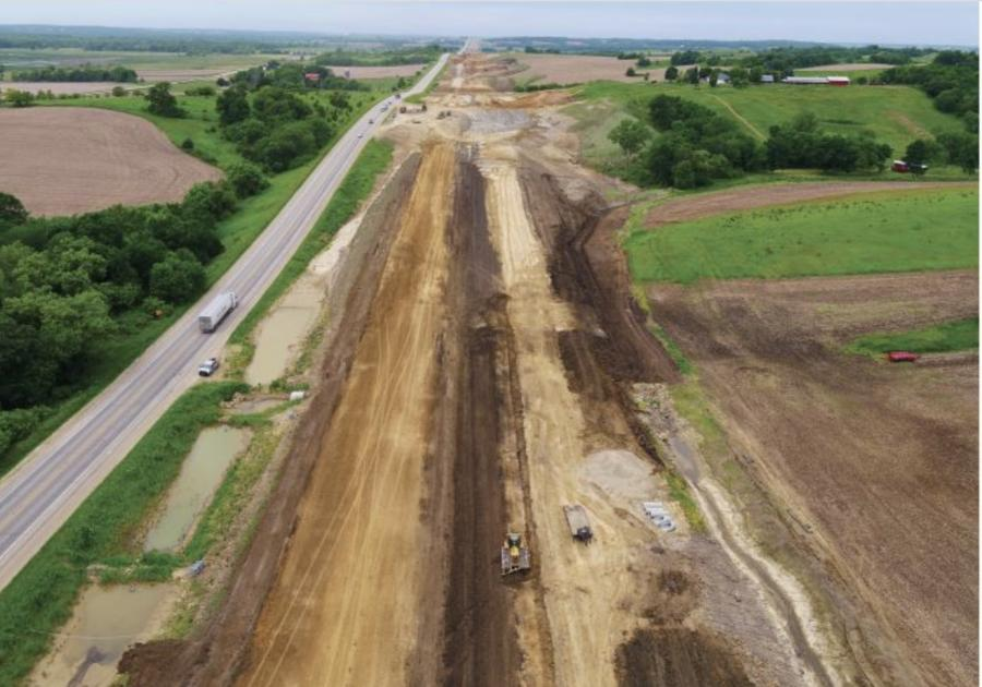 When Iowa DOT is constructing or moving a road, it often needs to move earth.