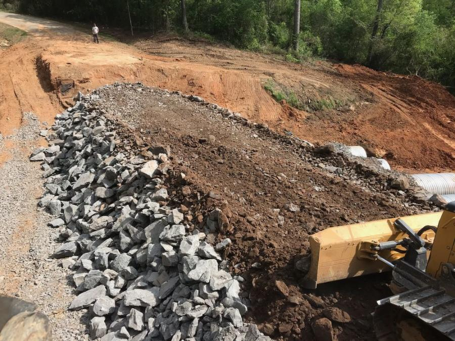 Unlike any other project ALDOT had been tasked with, this one had to be surveyed and laid out as workers were doing it. As a result, there was little room for error.