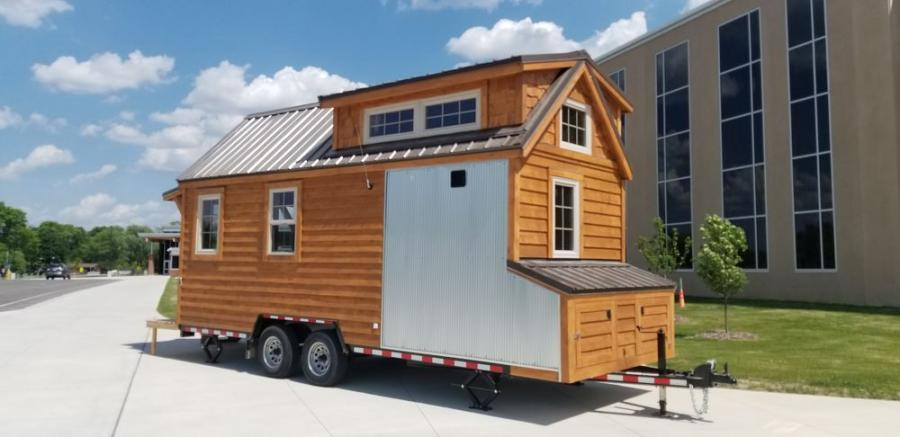 For the past four years, Towmaster has offered a custom T-9D trailer at cost for the Hutchinson High School tiny home project, providing a stable foundation and the opportunity for total mobility.