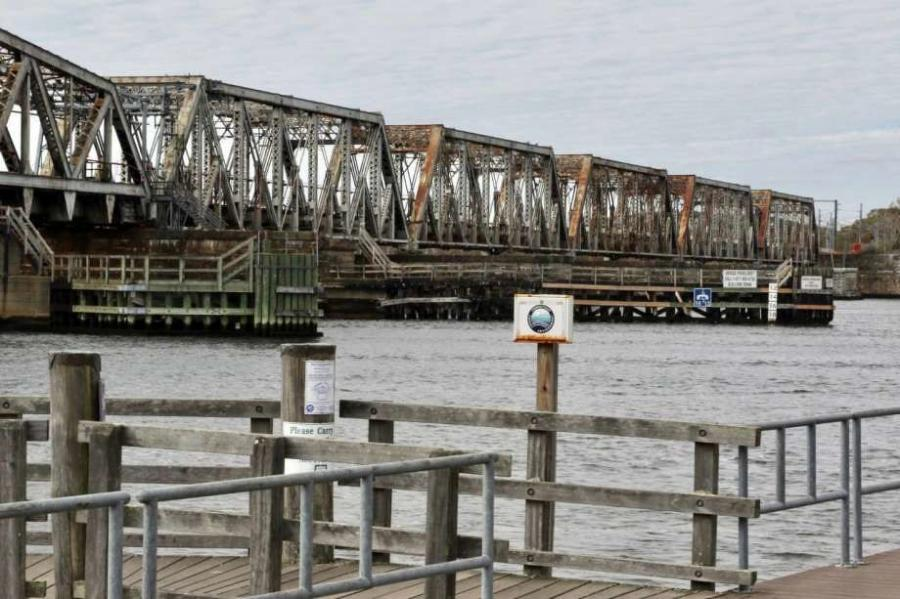 The original bridge, which dates to 1907, is an essential link on the Northeast Rail Corridor between Boston and Washington, D.C.