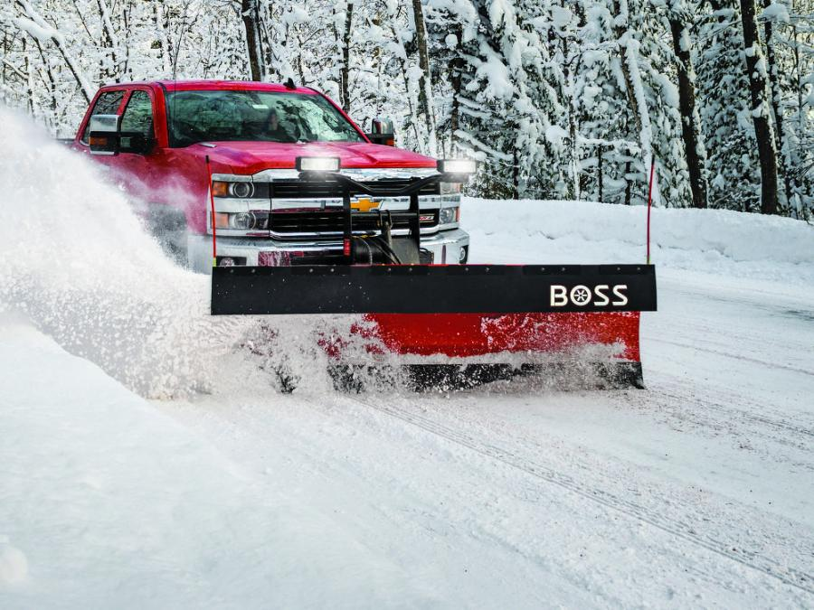 Boss Snowplow's goal is to provide contractors with solutions to their snow and ice business needs regardless of what vehicles they are using and what kind of contracts they have to do. (Boss Snowplow photo)