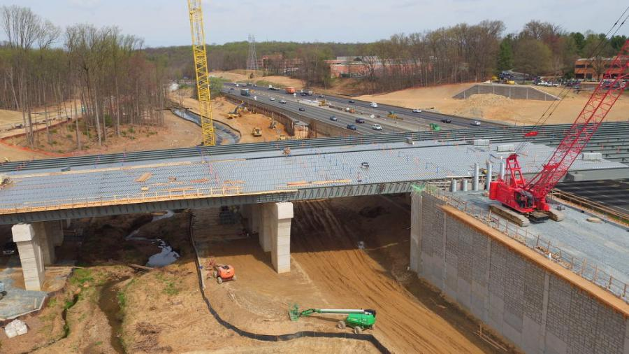 By adding a new bridge over I-270 and ramps connecting Watkins Mill Road with the interstate, residents now have easier access to locations such as the Gaithersburg Medical Center, Metropolitan Grove MARC Station, the Montgomery County Police Department and local neighborhoods and businesses.