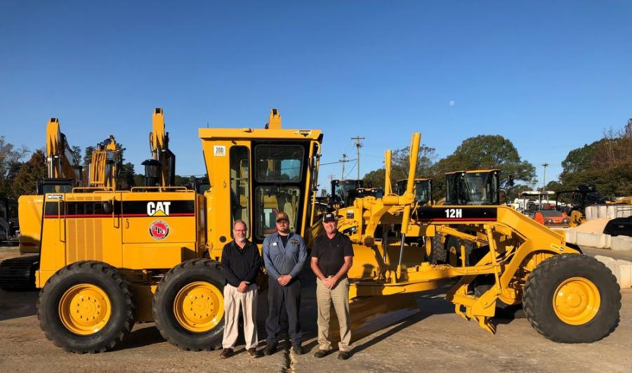 (L-R) are Jason Barts, rebuild coordinator; Zachary Hudson, technician; and Mickey Marshall, product support sales representative.