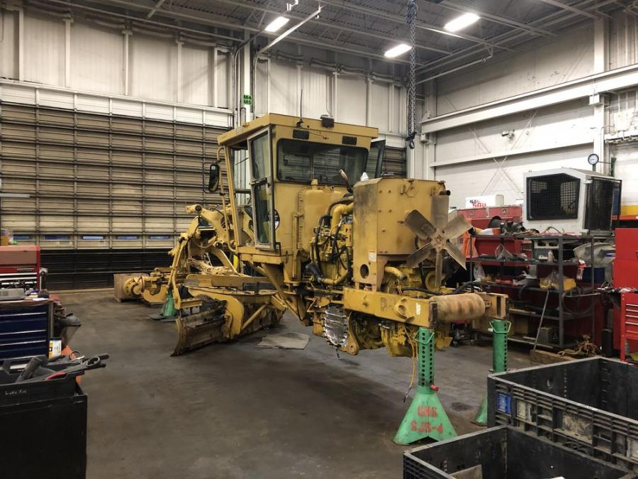 """""""We have some outstanding operators that just love the older machines,"""" David Dean, fleet manager of Asphalt Paving Company said. """"It's just a hard grader to beat."""""""