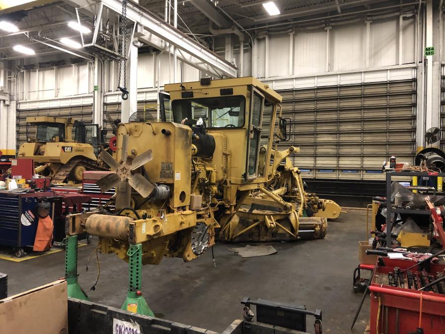 Asphalt Paving Company, based in Summerfield, N.C., recently had a Cat 12H motor grader rebuilt.