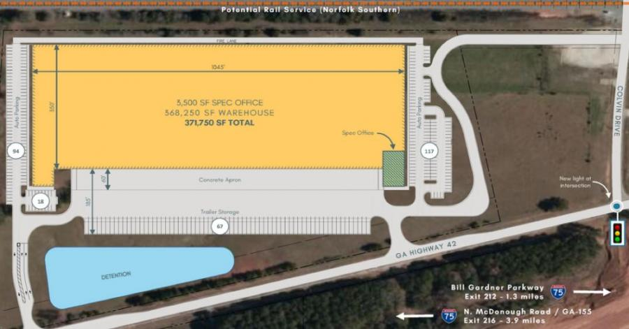 Concept site plan (Reliant Real Estate Partners LLC photo)