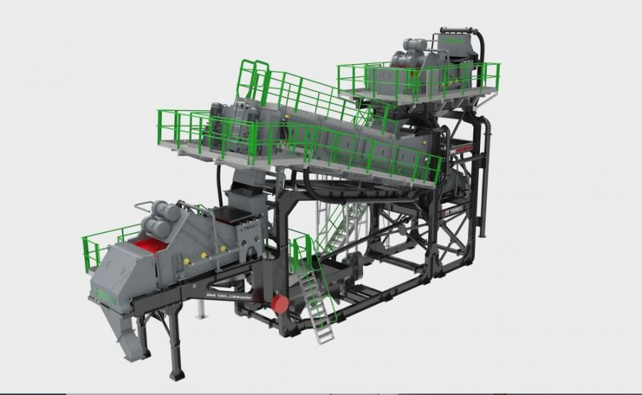 Comprising of hydro floatation water injection, integrated pre and post screens, a high-volume trash removal screen and single-pass processing for various feed materials, the HydroScrub 200 has performance in wash recycling applications ranging from C&D Muck away applications to