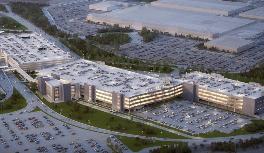 A new $210 million Ground Transportation Center planned for the airport has been slated for substantial completion in February 2022, with an official opening the following May.