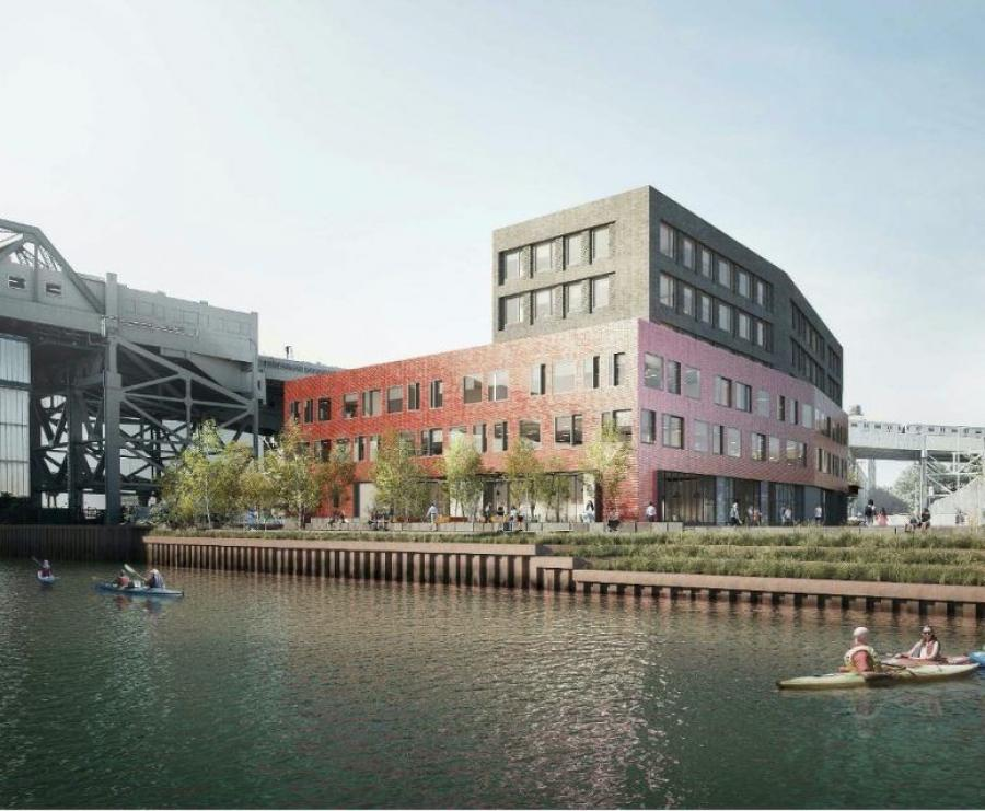 A rendering of 300 Huntington Street - Monadnock Development.