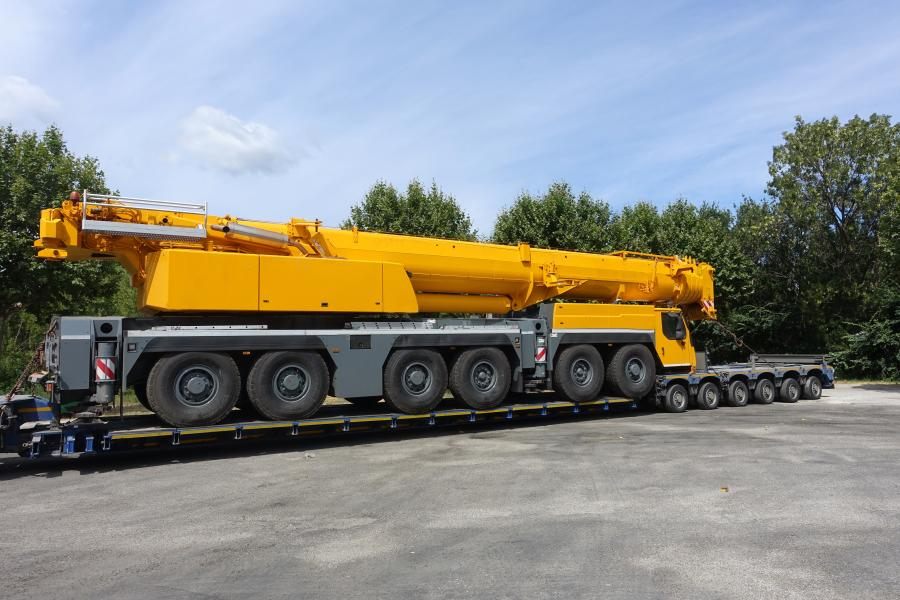 Crane manufacturers incorporate modular designs into newer  machine models so that components that can be moved efficiently and in the fewest number of loads possible.