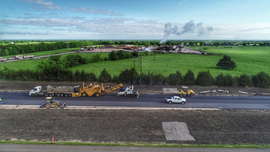 General contractor Austin Bridge & Roads has completed all seven bridges; cast-in-place and precast drainage extensions with head and wing walls; and 18.5 mi. of the new westbound roadway for the $71 million project on U.S. 82.