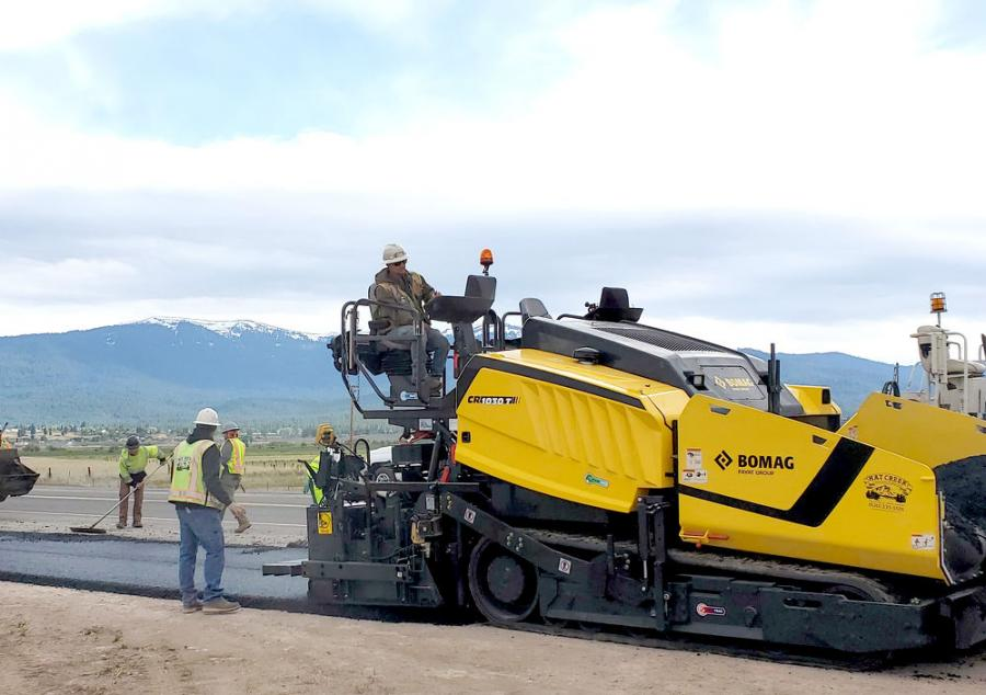 The Bomag Americas CR 1030 T meets and exceeds Caltrans' new ride specs, which makes for smoother transitions.