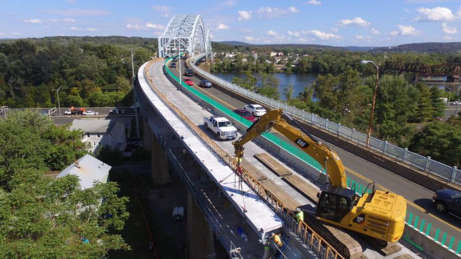 The $46 million undertaking in Middletown/Portland is the result of a 2010 safety report, which found deficiencies in the structure's two main arch spans.