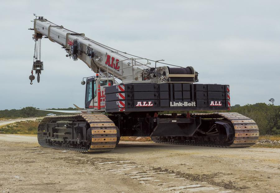 The purchase of nine new Link-Belt cranes brings ALL's total ownership of TCCs to more than 40 units across its nationwide branches.