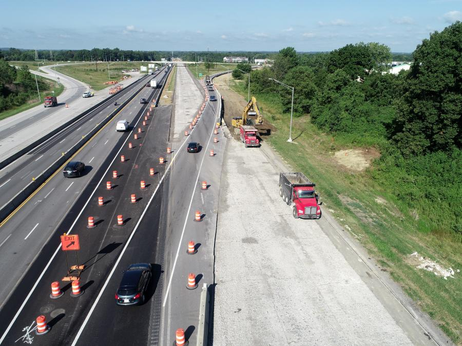 The Indiana Department of Transportation is heading up a $44.4M project in Hendricks County, Ind., to rebuild a portion of I-70. The contact was awarded to Milestone Contractors.