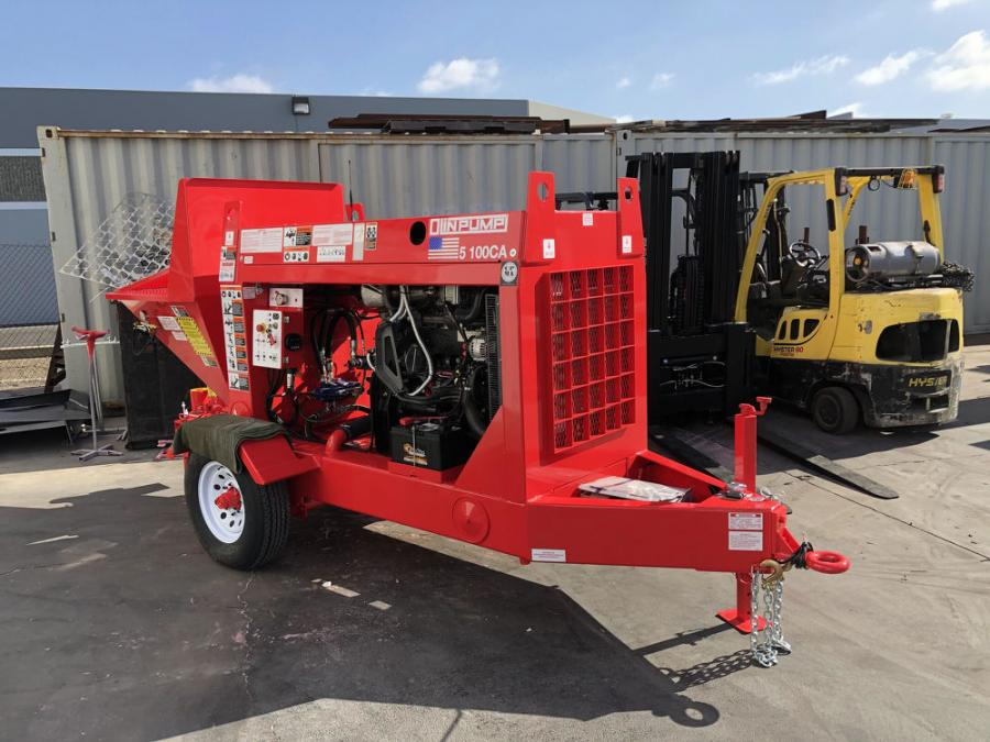 ECA has agreed to distribute the entire line of Olinpump concrete, shotcrete, and grout pumps in the eastern United States and eastern Canada.
