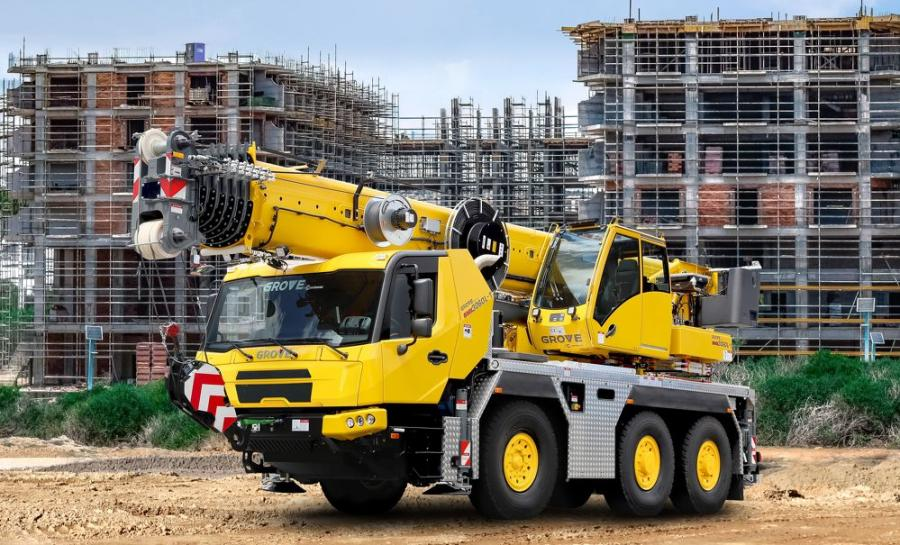 The new cab2020 is now available on all Grove three-axle all-terrain cranes, the GMK3050-3, GMK3060-2 and GMK3060L-1.