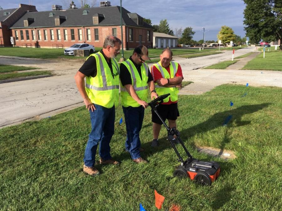 The trend in the GPR utility world has gravitated towards the use of small, portable and inexpensive units.
