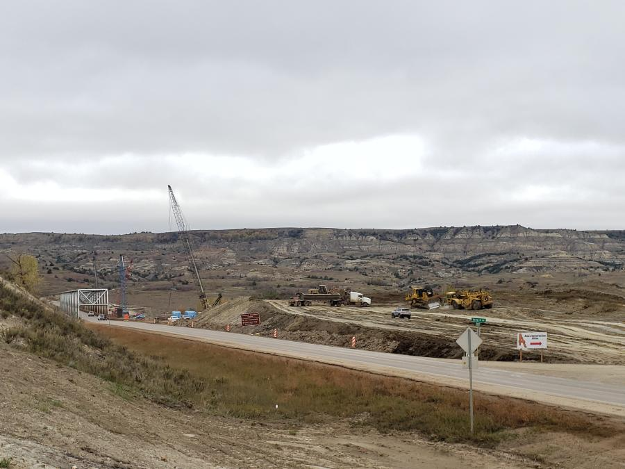 NDDOT completed the new Long X Bridge in 2020.