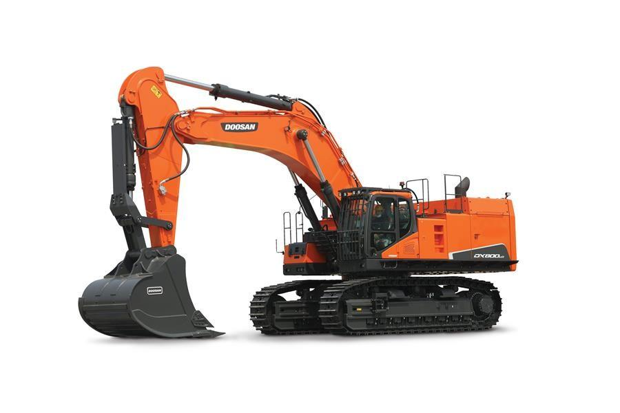 The crawler excavator's size makes it ideal for pit and quarry customers. It's also well-suited as a large machine for heavy construction and infrastructure work.