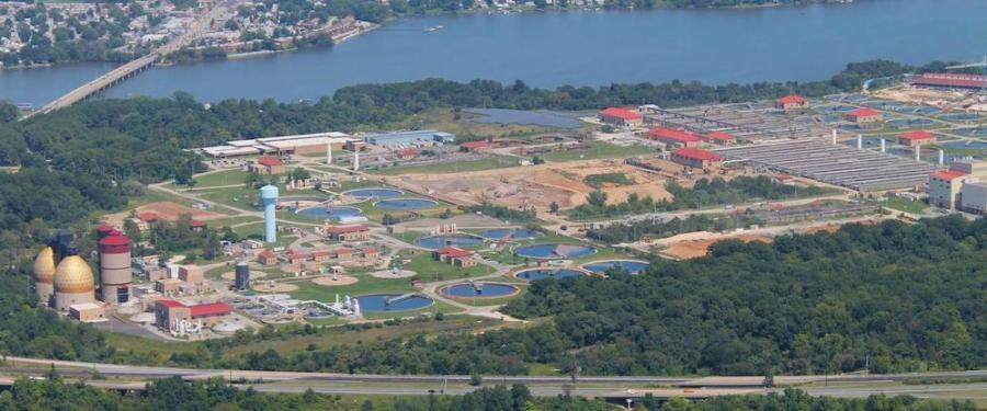 The Back River Wastewater Treatment Plant has received funding for improvements to the electrical system.