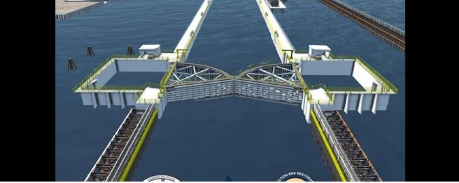 The Houma Navigational Canal Project is advancing to construction using an alternative financing plan.