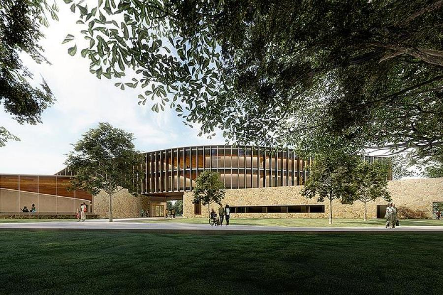 Designed by Marlon Blackwell Architects, in Fayetteville, the health institute's construction will break ground in spring 2021 with an estimated completion date of 2023.