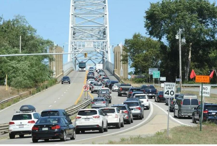 Within the new $900 billion stimulus bill is the Water Resources Development Act of 2020, a piece of legislation involving water infrastructure around the country, including the Bourne and Sagamore bridges. (Merrilly Cassidy photo)