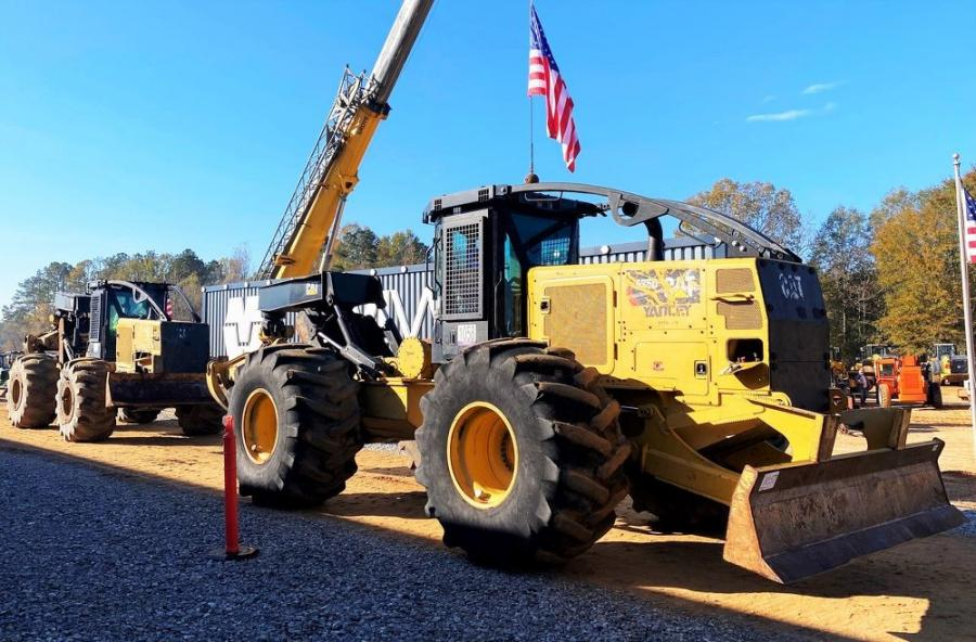 A large selection of Caterpillar forestry equipment was sold from locations across the country.