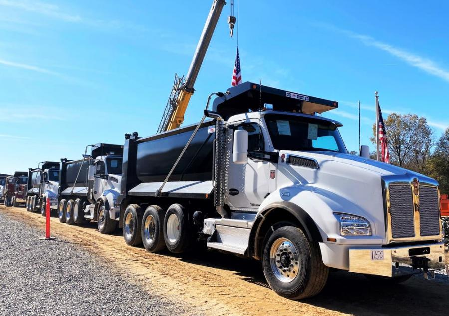 Another great selection of 2020 Kenworth T880s rolled across the ramp and were sold for $187,500 each.