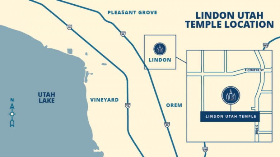 The Church of Jesus Christ of Latter-day Saints announed that a Temple will be built near 800 East and Center Street in Lindon.