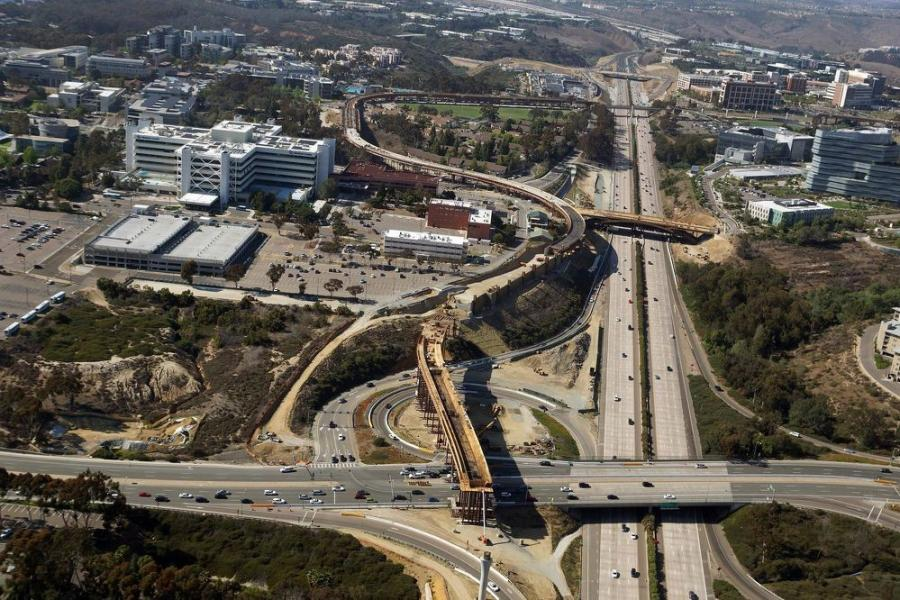 The Caltrans and SANDAG North Coast Corridor Program is a 40-year, $6 billion balanced set of highway, rail, environmental and bike and pedestrian mobility and coastal access projects for north coastal San Diego County.