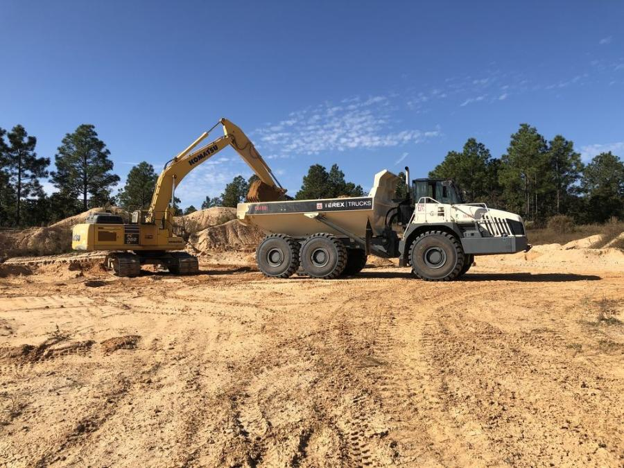 With one Terex truck in its employ, Lanier Sand and Soil is now considering going ahead with plans to get another.