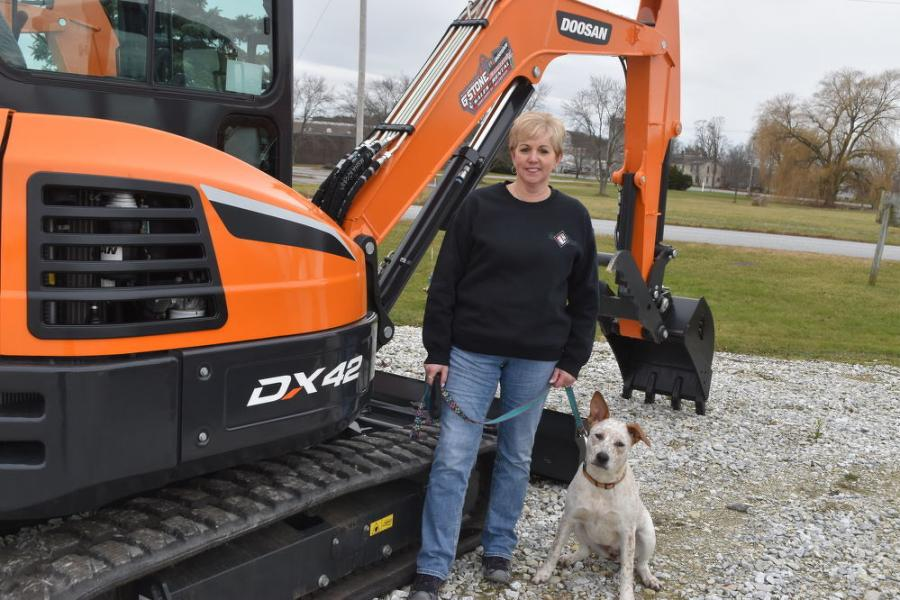 According to Darcy Stone, president of G. Stone Commercial, compact excavator sales like this Doosan DX42 have led to G. Stone Commercial being one of the top 10 Doosan dealers in the country.