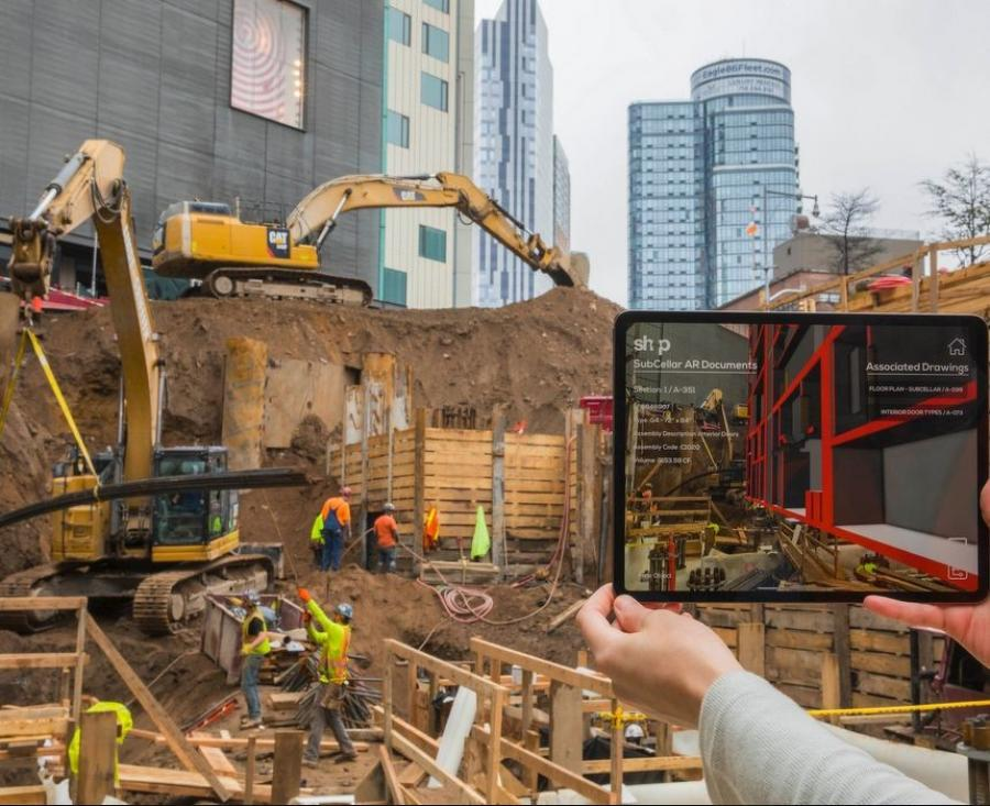 Augmented reality, often considered merely gaming technology, is coming to the construction industry.
