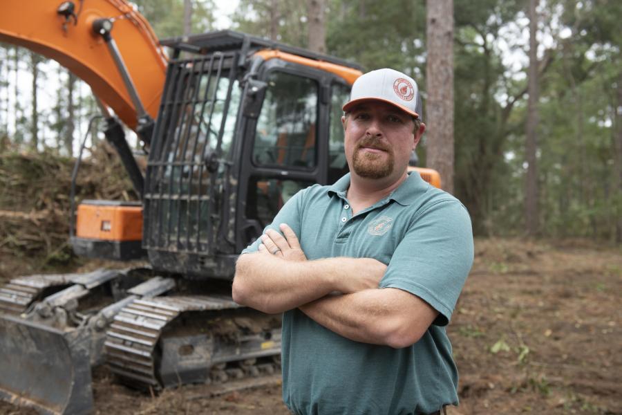 Gabe Shemper started Homestead Dirt Works and Mulching in 2016 in Hattiesburg, Miss.