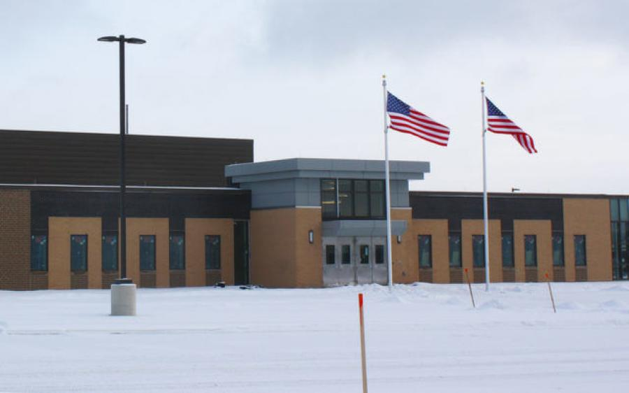 The Northern Maine Readiness Center, a new facility for the Maine National Guard's 185th Engineer Support Company, will open in spring 2021. (Melissa Lizotte | The Star Herald photo)