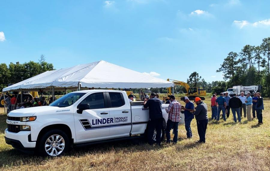 A group of Linder customers came together to hear more about the plans for the new branch.