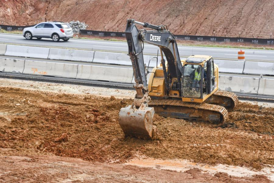 Considered one of the largest and most complex undertakings in South Carolina Department of Transportation (SCDOT) history, the I-85 widening project will reduce congestion on the interstate, improve the safety of interchanges and replace aging infrastructure when complete. (South Carolina DOT photo)