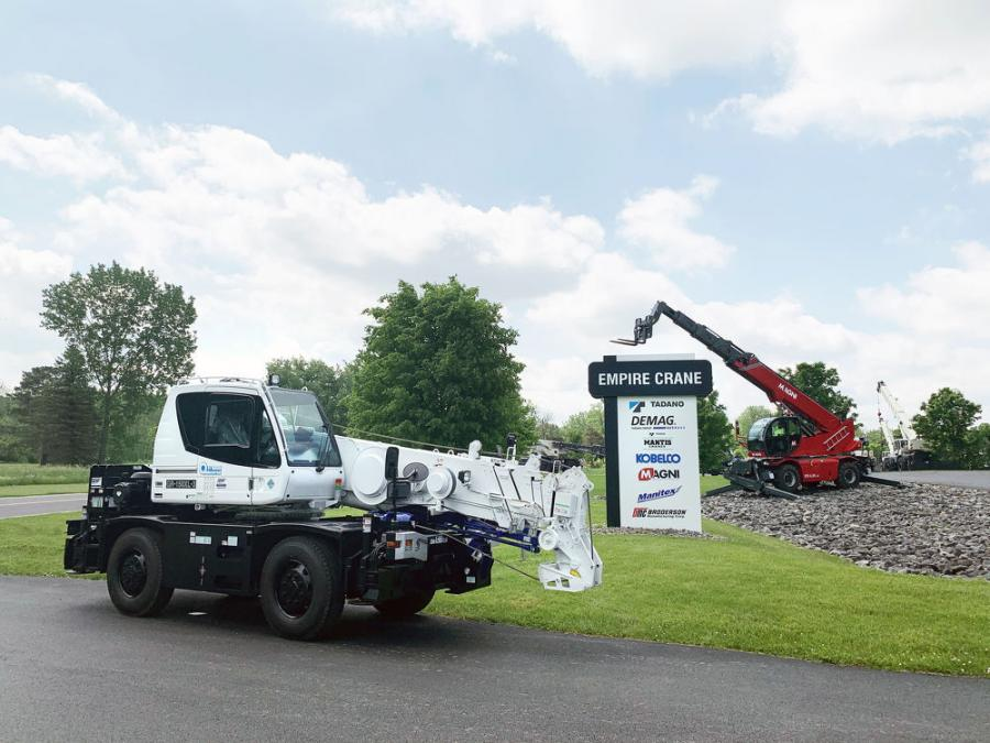 Empire Crane Company has been added as an authorized distributor of Tadano cranes.
