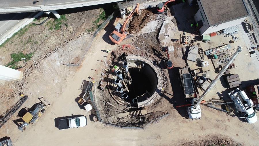 The $259 million reconstruction of the interchange connecting Interstate 69 to the 610 West Loop near the Galleria is  being constructed by Williams Brothers Construction.