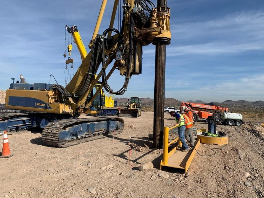 The Arizona Department of Transportation is managing construction of the $20.3 million regional freeway project, which is designed to improve capacity for current and future traffic needs by adding a third lane in each direction along Loop 303 between Happy Valley and Lake Pleasant parkways in Peoria.