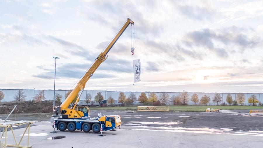 The Demag AC 80-4 features a main boom that is  196.9 ft. (60 m) long and that, with some configurations, makes it possible to have the longest main boom reach in the class of up to 132 tons (120 t).