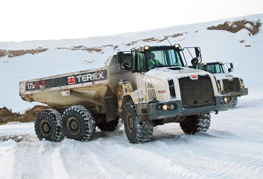 Terex Trucks offers tips to keep trucks up and running in winter weather.