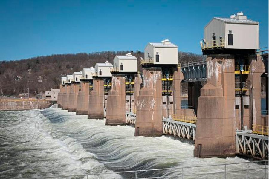A planned hydropower plant will supply electricity to Allegheny County buildings. (Tribune Review photo)