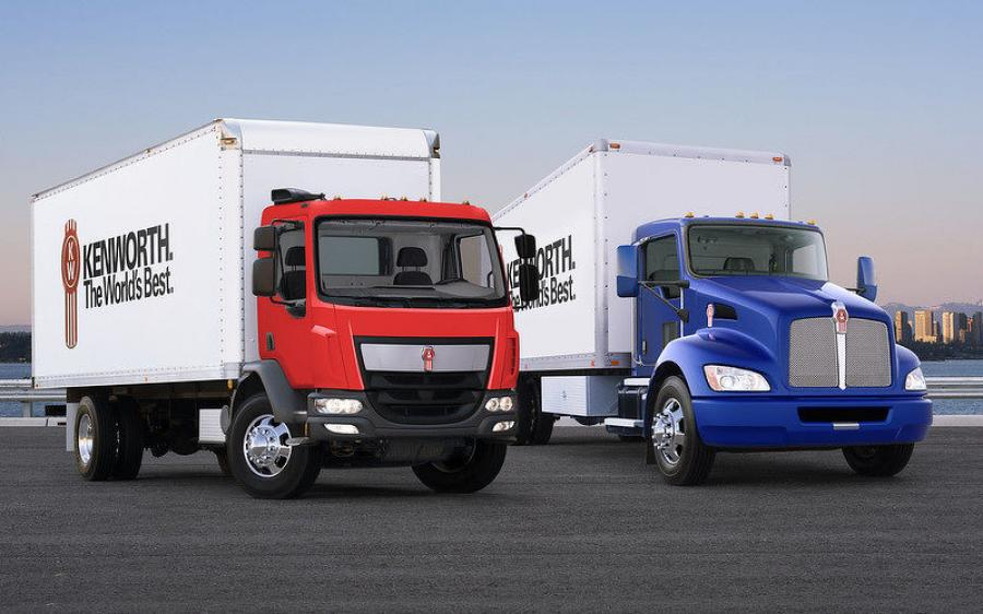 Kenworth's T270 and T370 conventionals and K270 and K370 cabovers propelled Kenworth to its medium duty market share record.